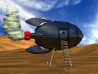 3ds b-movie rocketship