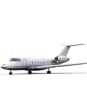 jet interior 3d model