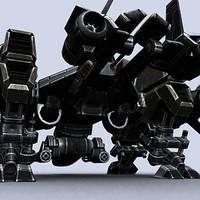 sci-fi dropship 3ds