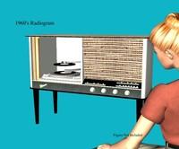 1960's Radiogram..ZIP
