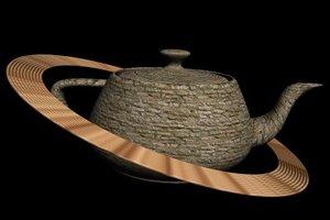 3dsmax tea saturn