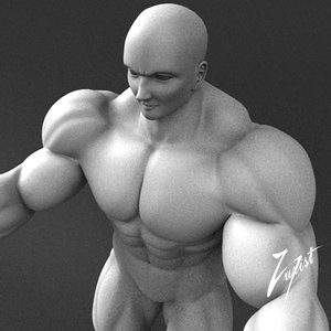 human person male dxf