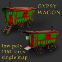 3ds gypsy wagon