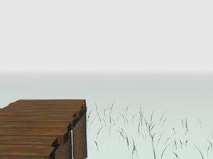 3d model lake