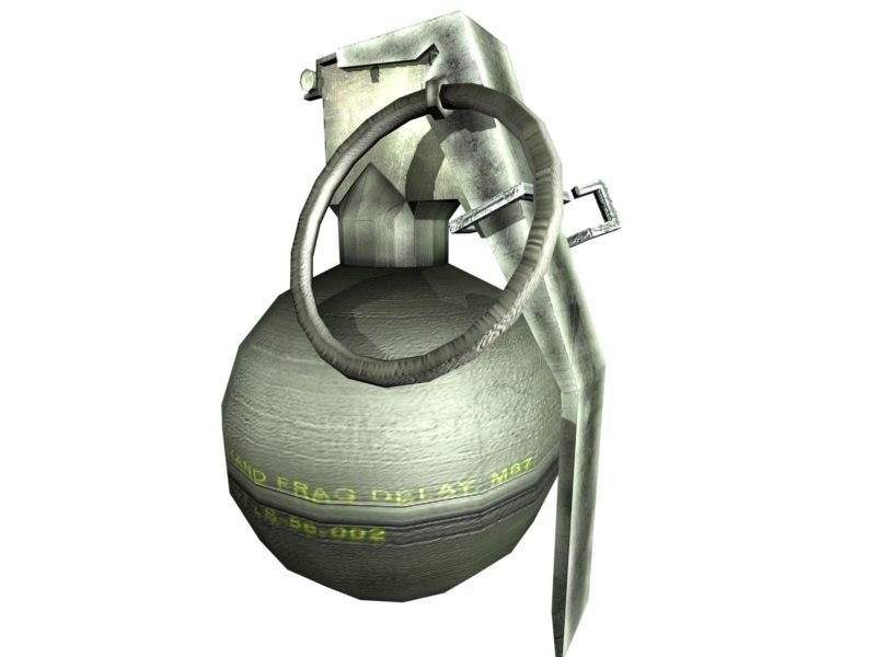 3d max grenade