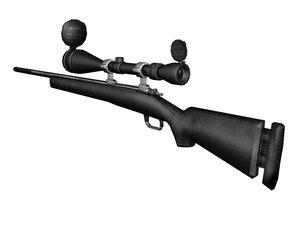 3d model m24 sniper rifle