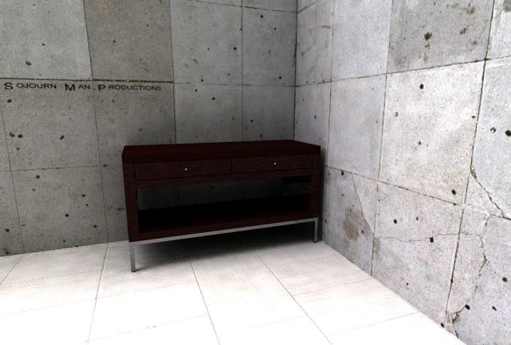 3d model hbf console