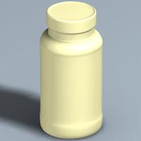 medicine container rolaids 3d xsi