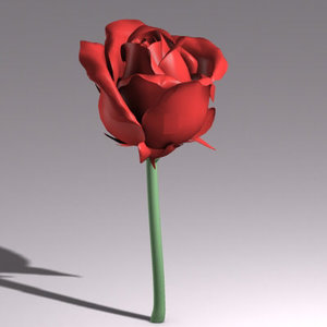 3ds max rose flower