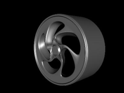 wheel rim tires 3ds