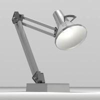 3d model adjustable lamp
