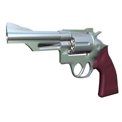 weapons pistol gun 3d model