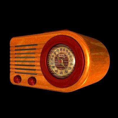 fada radio 3d model