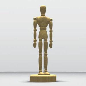 free human 3d model