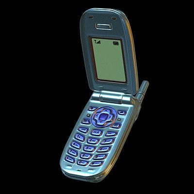 cell phone 3d model