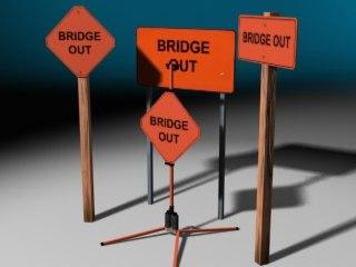 bridge signs max