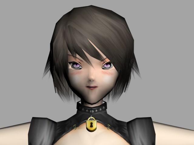 games biped morph 3d model