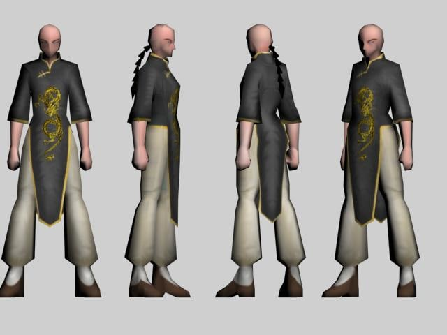 characters realtime games 3d model