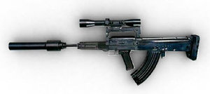 3d new assault rifle oc-14 groza