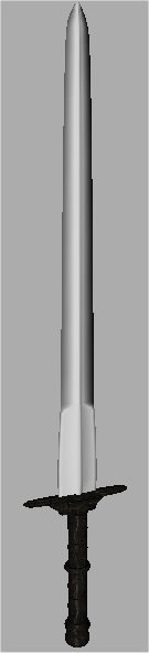 long sword 3d model