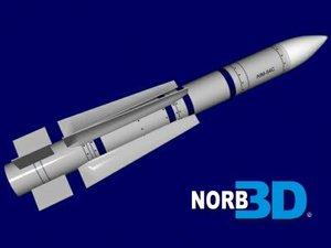 phoenix missile 3d model