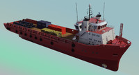 Platform Supply Vessel UT745.zip