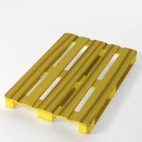 euro-pallet wood 3d model
