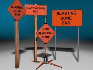 zone signs 3d max
