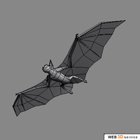 realistic bat 3d max
