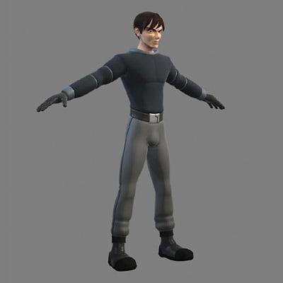 character male body ma