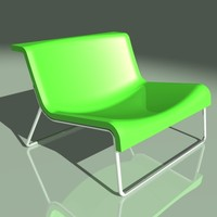 kartell form chair 3d max