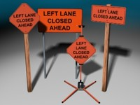 3d model construction signs