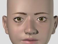 woman figure 3d lwo