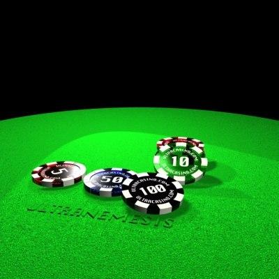 3d casino model