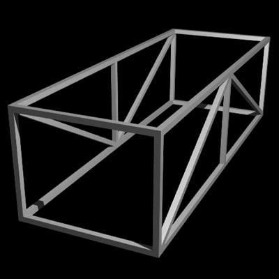metal frame lwo
