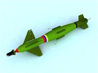 3d model of rocket