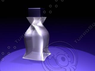 3d model parfum bottle