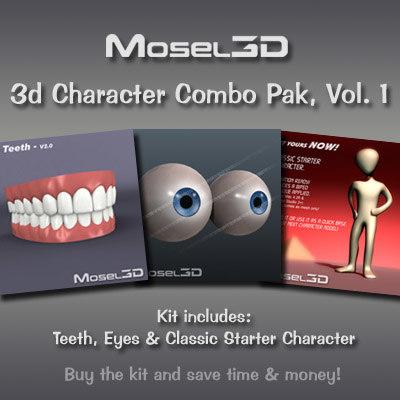 3d model character combo vol 1