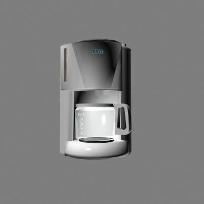 coffee-machine 3d model