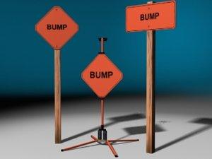 bump signs max