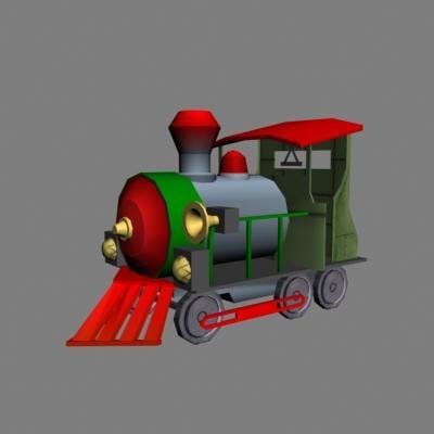 humorous railroad 3d max