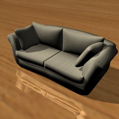 designed furniture 3d max