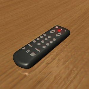 remote control 3d model