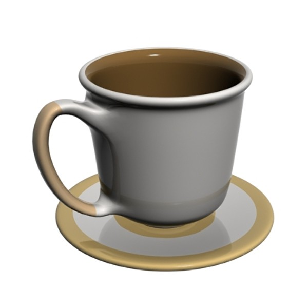 3ds max coffeecup mug