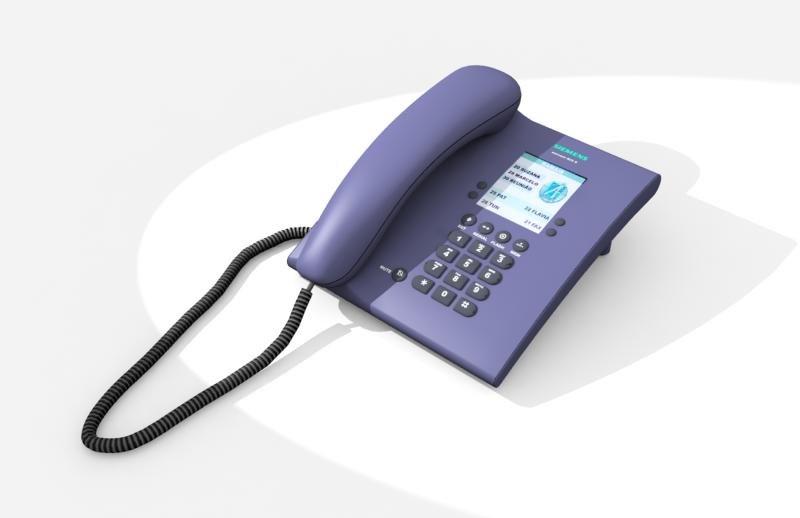 siemens phone 3d model