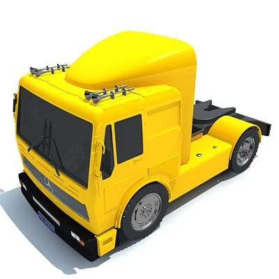 truck vehicle 3d 3ds