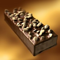 chocolate snack 3d lwo