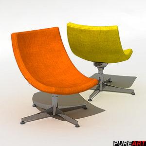 3d furniture armchair chair