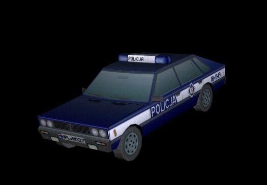 3ds polish police car polonez
