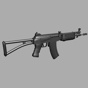 max ak-47 galil rifle